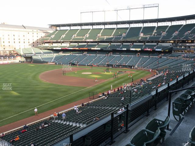 Oriole Park at Camden Yards Section 262 view