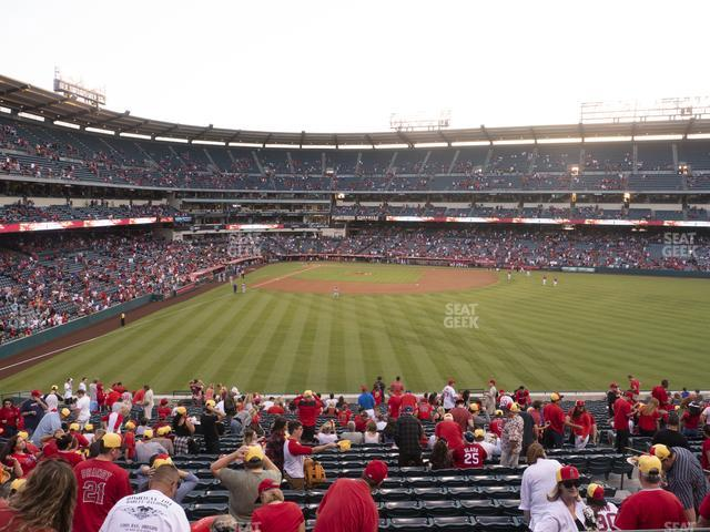 Angel Stadium of Anaheim Section 245 view