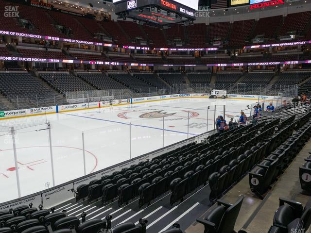 Honda Center Section 211 view