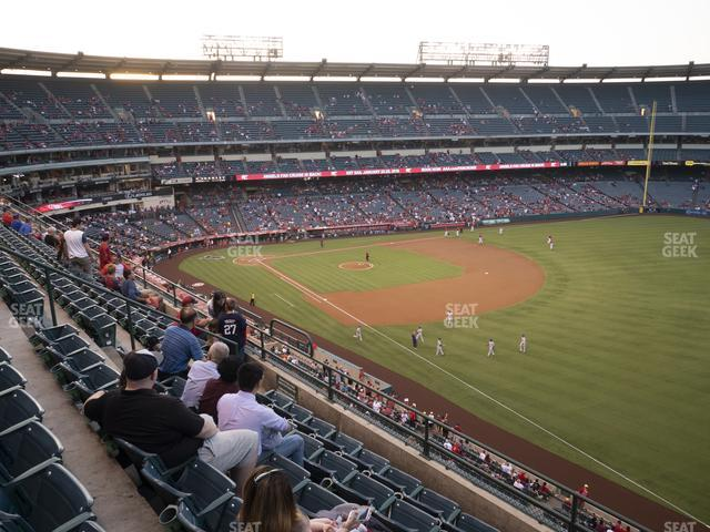Angel Stadium of Anaheim Section 430 view