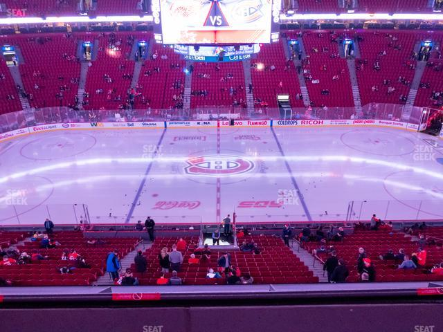 Bell Centre Section 201 view