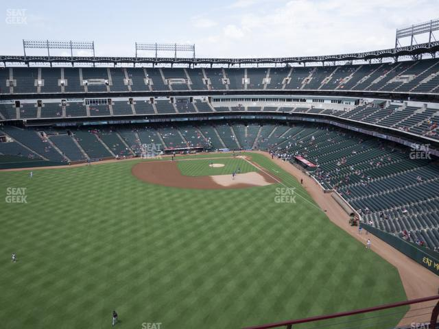 Globe Life Park Section 302 view