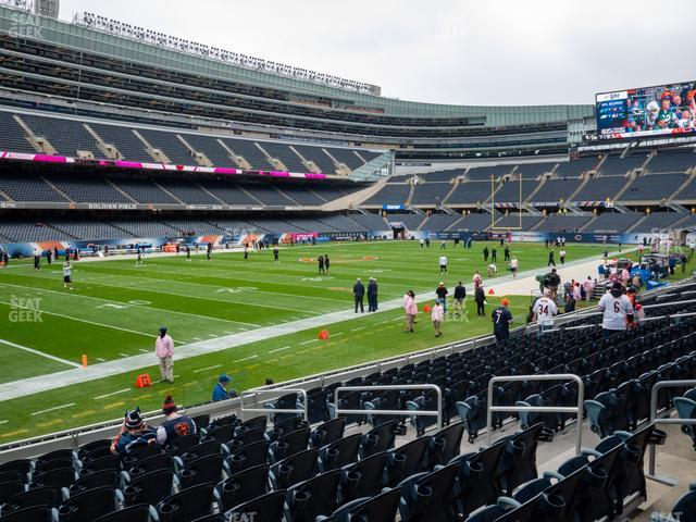 Soldier Field Section 144 view