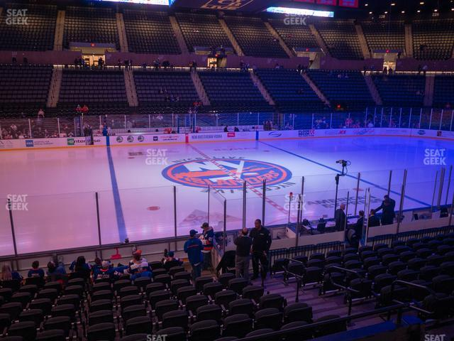 Nassau Veterans Memorial Coliseum Section 104 view
