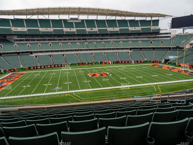 Paul Brown Stadium Section 242 view