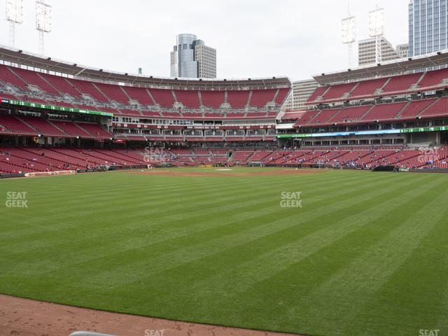 Great American Ball Park Section 146 view