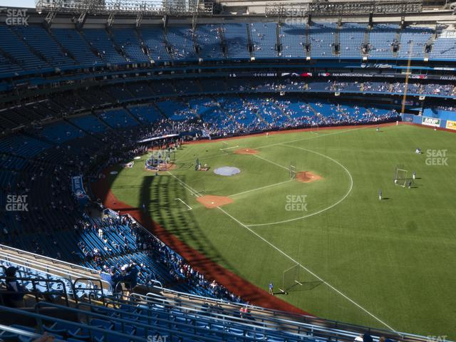 Rogers Centre Section 512 R view