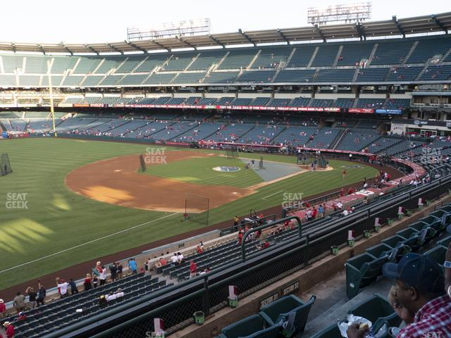 Angel Stadium of Anaheim Section 311 view