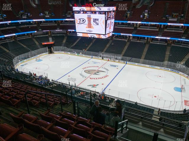 Honda Center Section 409 view