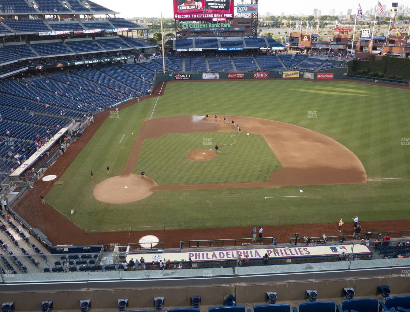 Philadelphia Phillies at Citizens Bank Park Section 316 View