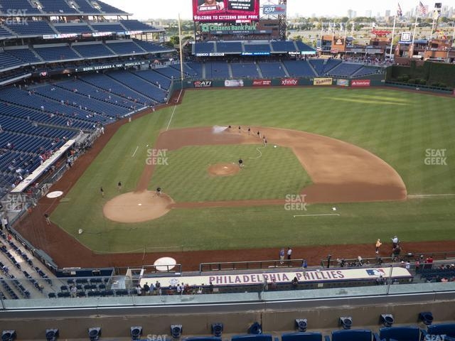 Citizens Bank Park Section 316 view