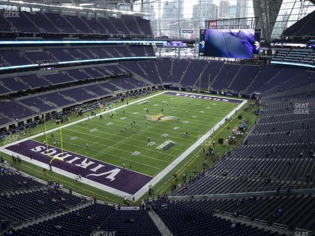 U.S. Bank Stadium Section 321 view