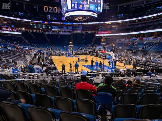 Amway Center Section 111 view