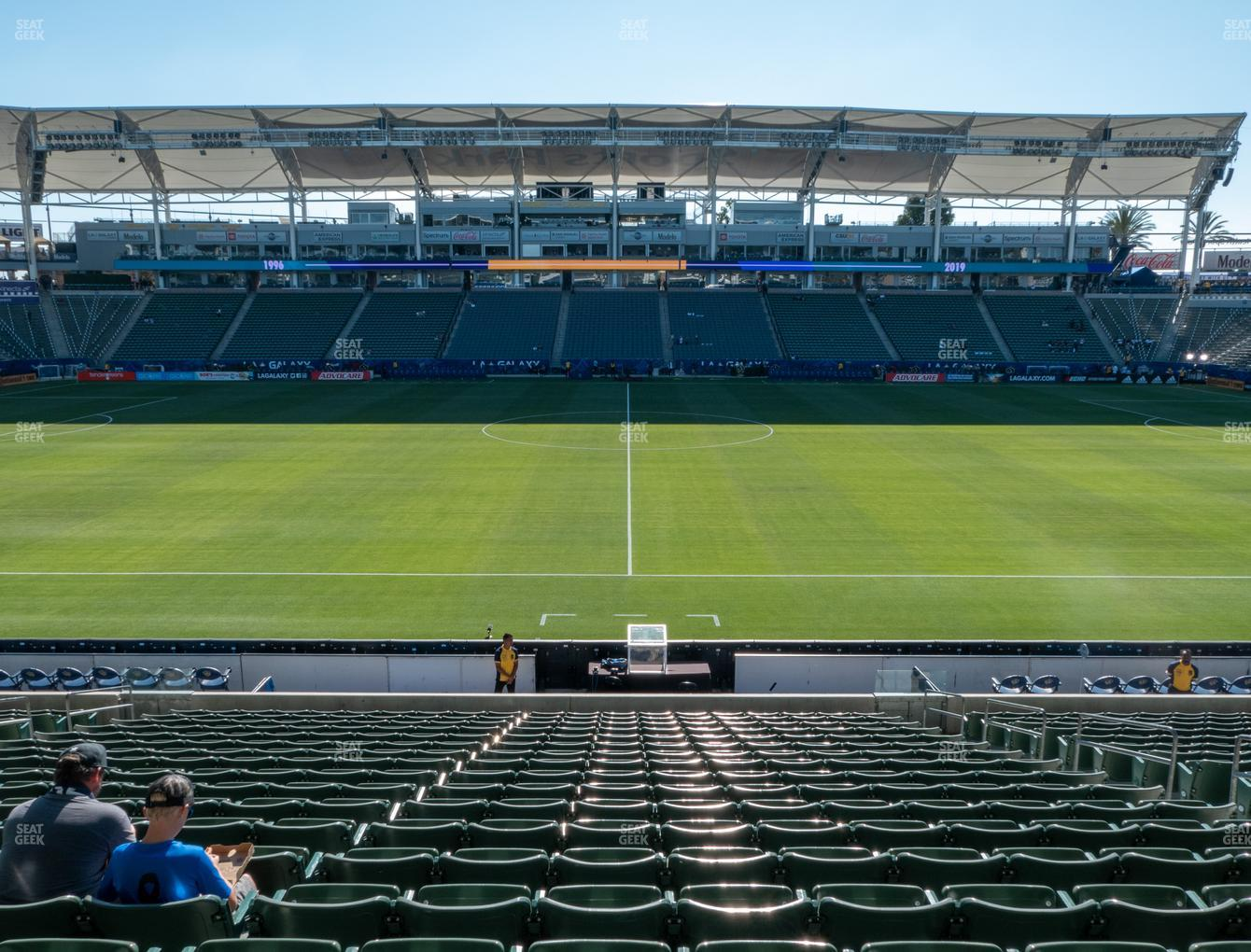 Dignity Health Sports Park Section 132 Seat Views | SeatGeek