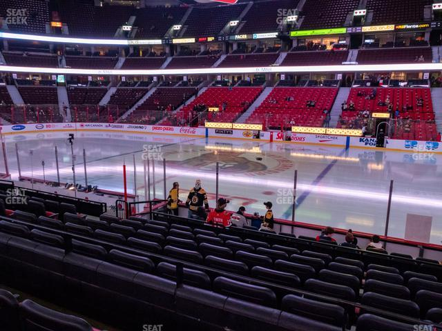 Canadian Tire Centre Section 115 view