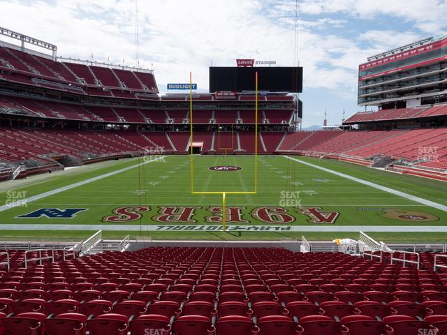 Levi's Stadium Section 103 view