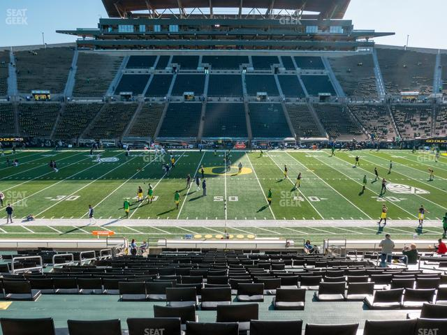 Autzen Stadium Section 11 view