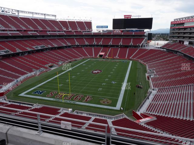 Levi's Stadium Section 301 view