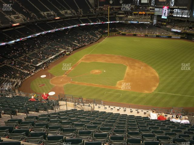 Chase Field Section 309 view