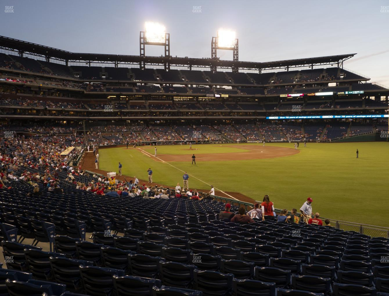 Philadelphia Phillies at Citizens Bank Park Section 108 View