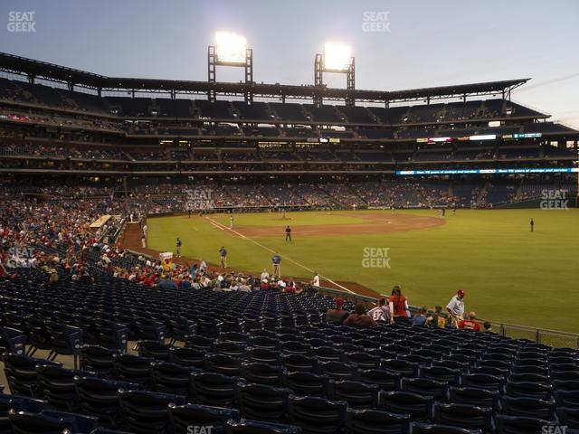 Citizens Bank Park Section 108 view