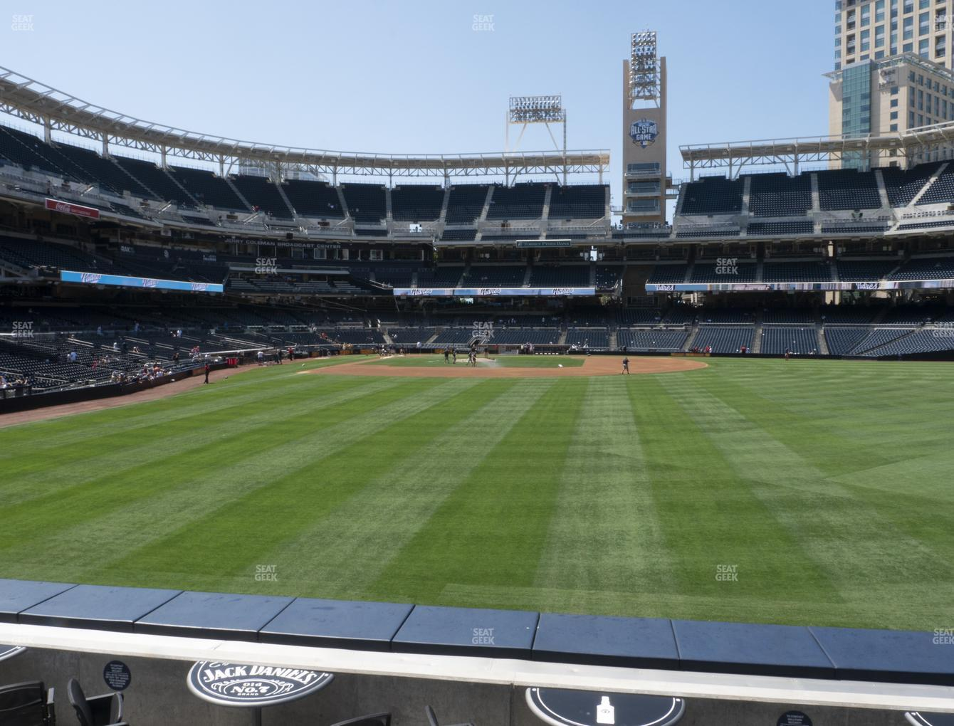 San Diego Padres at Petco Park Section 133 View