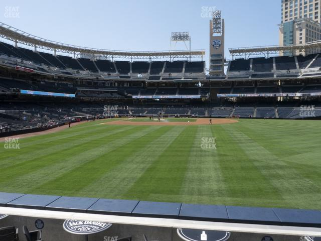 Petco Park Section 133 view