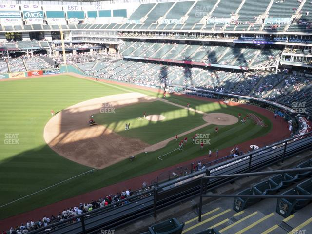 Progressive Field Section 469 view