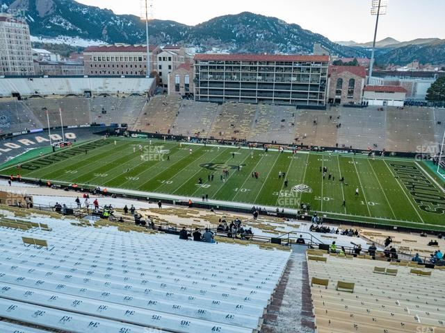 Folsom Field Section 575 view