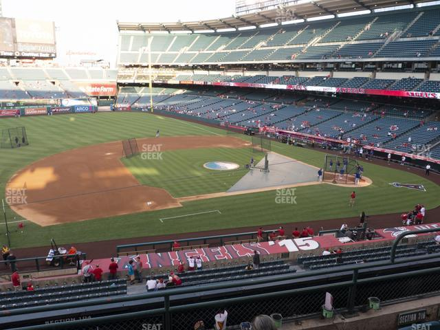 Angel Stadium of Anaheim Section 316 view