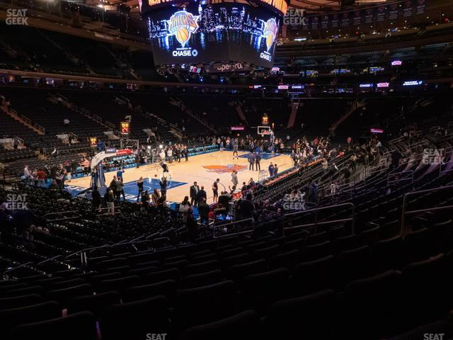 Madison Square Garden Section 104 view