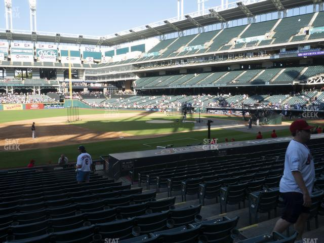 Progressive Field Section 165 view