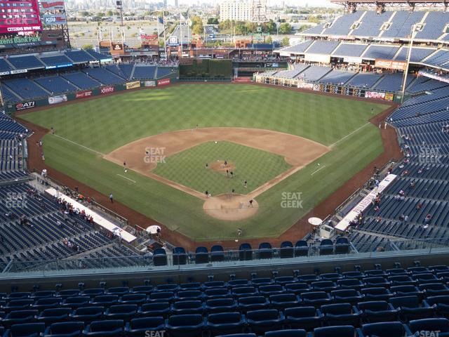 Citizens Bank Park Section 421 view