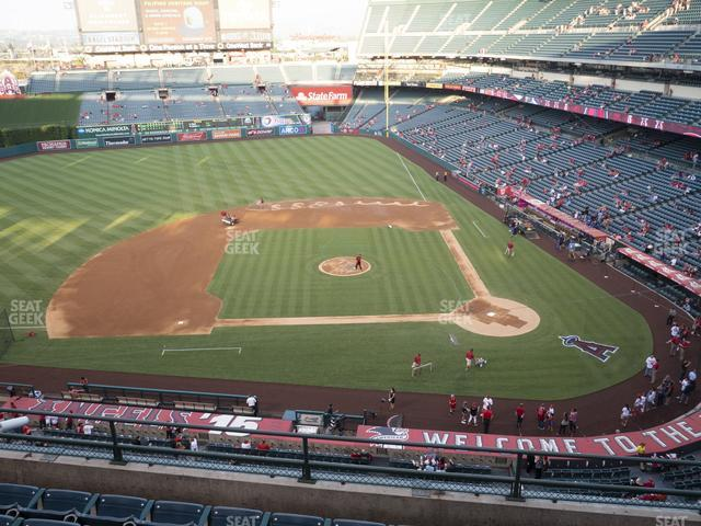 Angel Stadium of Anaheim Section 413 view