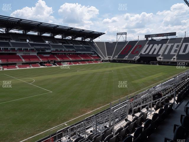 Audi Field Section 131 view