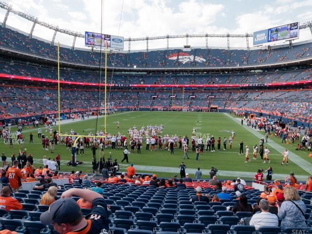 Empower Field at Mile High Section 131 view