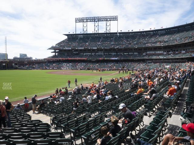 Oracle Park Section 133 view
