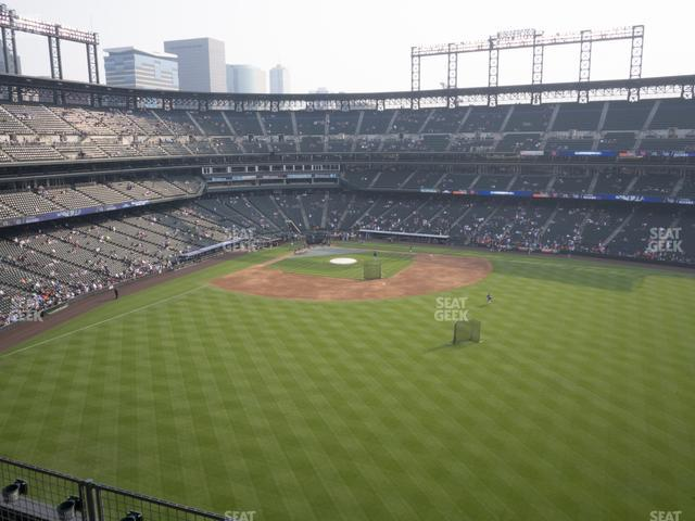 Coors Field Lower 303 view