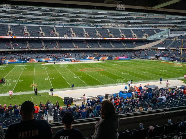 Soldier Field Section 240 view