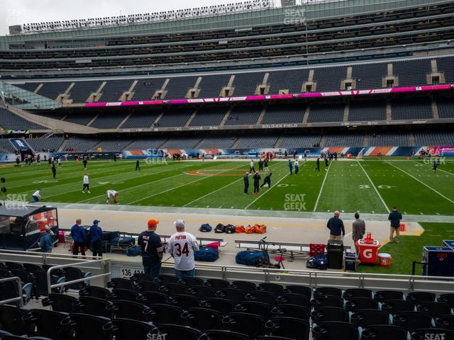 Soldier Field Section 134 view
