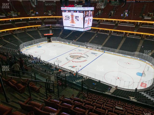 Honda Center Section 408 view