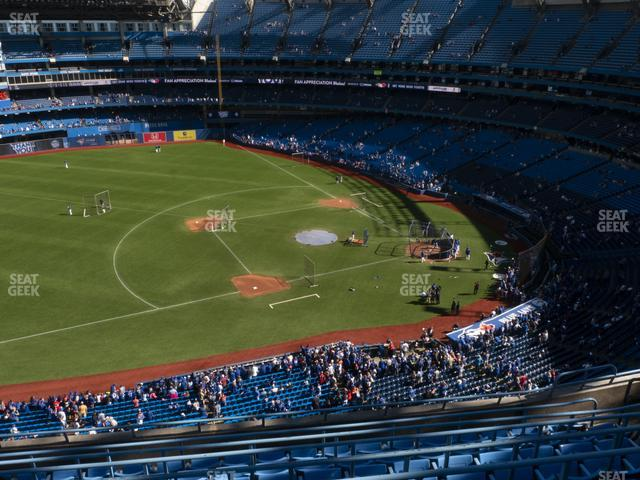 Rogers Centre Section 532 L view