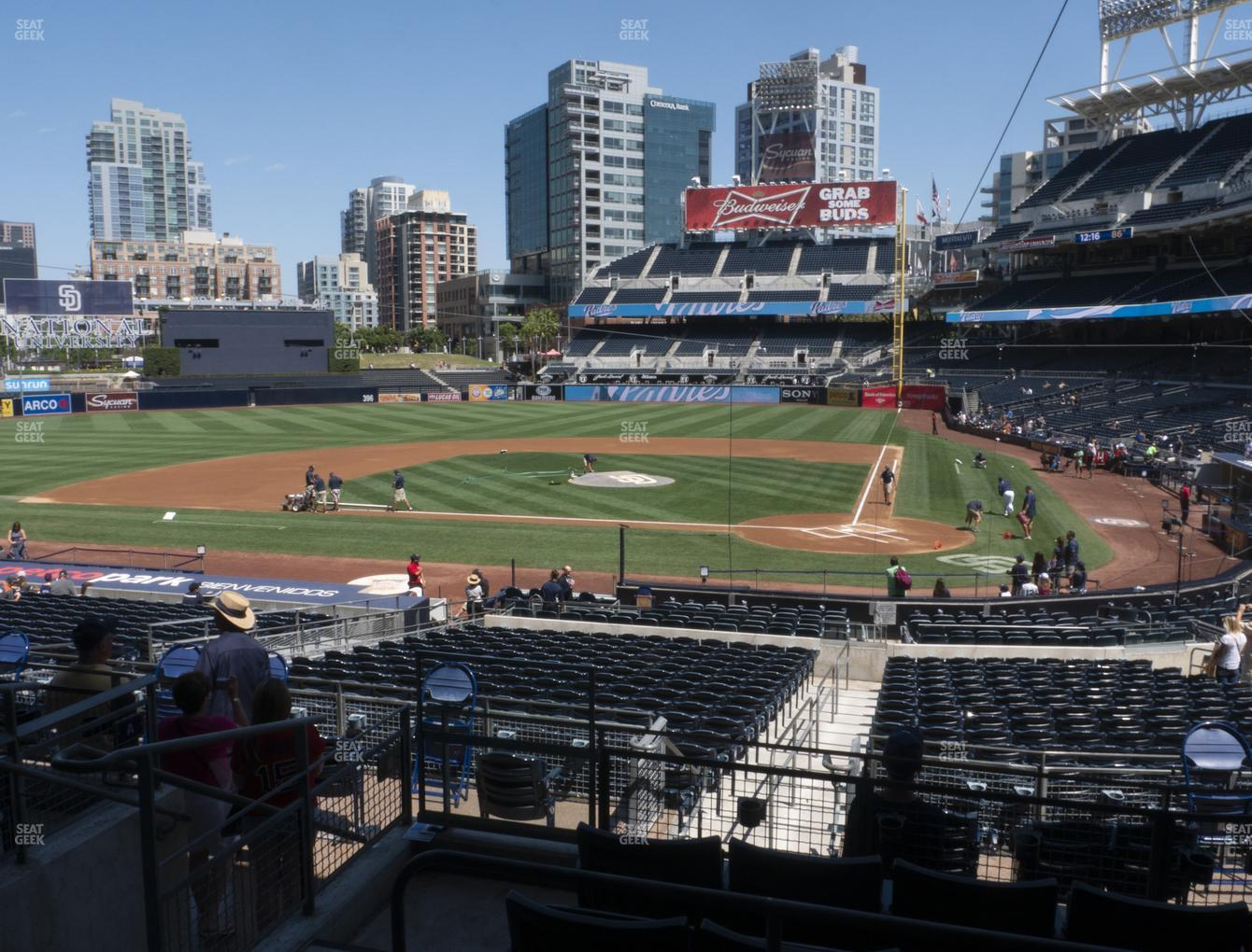 San Diego Padres at Petco Park Premier Club B View