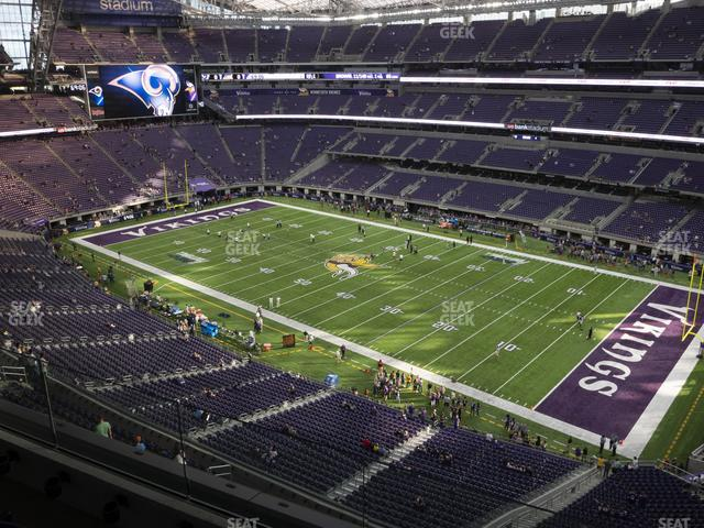 U.S. Bank Stadium Section 307 view