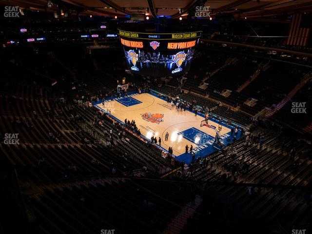 Madison Square Garden Section 317 view
