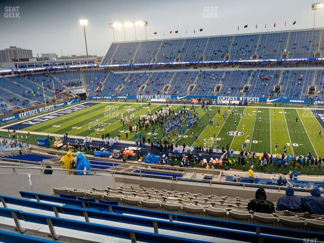 Kroger Field Section 228 view