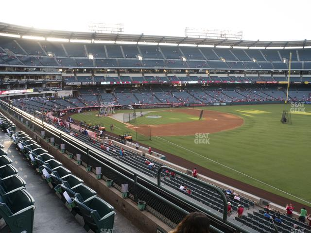 Angel Stadium of Anaheim Section 344 view