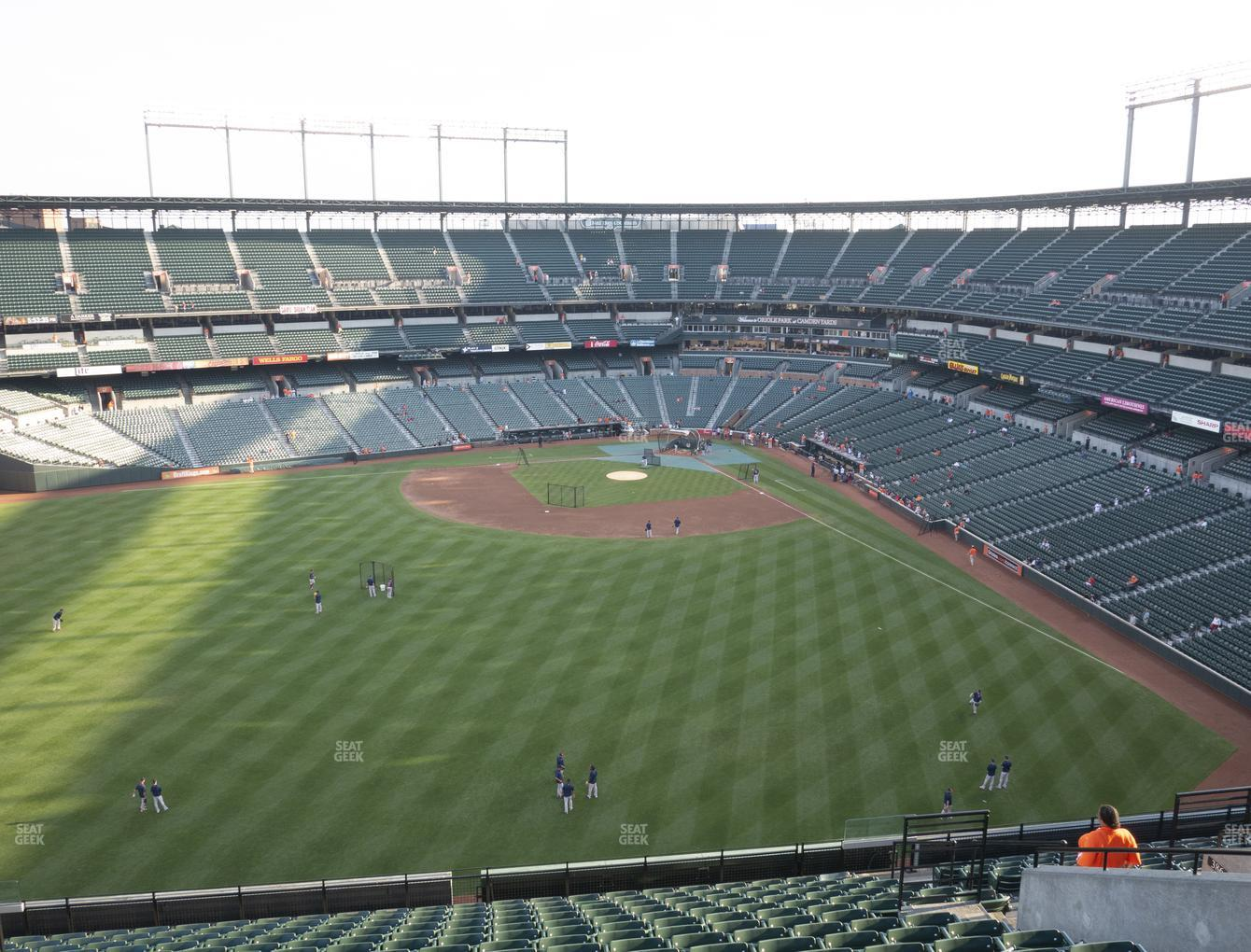 Baltimore Orioles at Oriole Park at Camden Yards Section 388 View