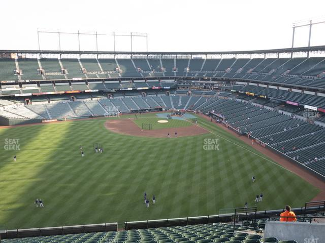 Oriole Park at Camden Yards Section 388 view