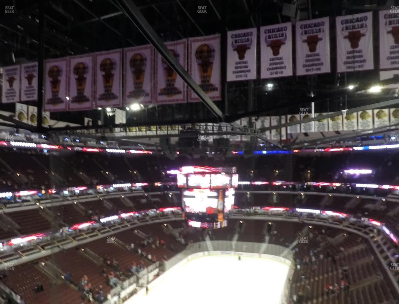 Chicago Blackhawks at United Center Section 324 View
